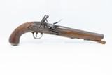 Late-18th Century BRITISH FLINTLOCK Military Pistol by THOMAS KETLAND & CO. BRITISH ORDNANCE INSPECTED