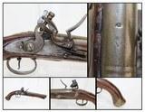 BRITISH Antique LIGHT DRAGOON Flintlock Pistol