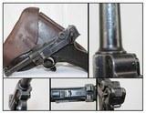 Rare FINNISH DWM 1923 Pistol w Marked HOLSTER - 1 of 19