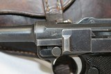 Rare FINNISH DWM 1923 Pistol w Marked HOLSTER - 3 of 19
