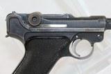Rare FINNISH DWM 1923 Pistol w Marked HOLSTER - 15 of 19