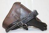 Rare FINNISH DWM 1923 Pistol w Marked HOLSTER - 2 of 19