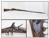 Antique US SPRINGFIELD Model 1816 FLINTLOCK Musket