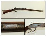 ANTIQUE Winchester 1873 Lever Action Rifle 38 WCF - 1 of 20