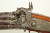 ONE OF A KIND Royal Austrian Takedown Double Rifle for Hunting & Safari Fantastically Engraved and Gold Inlaid - 15 of 25