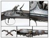 PAIR of SCOTTISH Clan YOUNG Flintlock Pistols