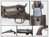 """""""4-SCREW"""" Antique Colt 3rd Model DRAGOON Revolver"""