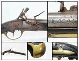 Rare DANISH Model 1772 Flintlock CAVALRY Pistol