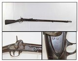 SCARCE Antique MAYNARD Conversion of M1816 Musket - 1 of 19