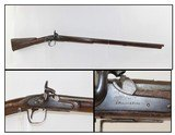 NATIVE AMERICAN Trade Musket by ISAAC HOLLIS