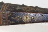 OTTOMAN Turkish Antique SHISHANA Miquelet Rifle - 11 of 26