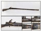 OTTOMAN Turkish Antique SHISHANA Miquelet Rifle