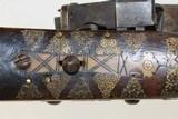 OTTOMAN Turkish Antique SHISHANA Miquelet Rifle - 18 of 26