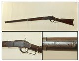LONG BARREL Antique WINCHESTER 1873 .44 WCF Rifle Iconic Repeating Rifle Chambered In .44-40 Winchester Center Fire - 1 of 24