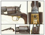 Mid-CIVIL WAR COLT 1860 ARMY Revolver Made in 1863 .44 Caliber Cavalry Revolver by Samuel Colt - 1 of 21