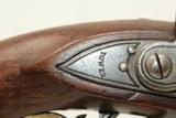 QUEEN'S CAVALRY Marked New Land FLINTLOCK PistolQueen's Own Royal Yeomanry Cavalry Pistol! - 8 of 19