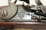 QUEEN'S CAVALRY Marked New Land FLINTLOCK PistolQueen's Own Royal Yeomanry Cavalry Pistol! - 7 of 19