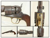Mid-CIVIL WAR COLT 1860 ARMY Revolver Made in 1863 .44 Caliber Cavalry Revolver by Samuel Colt - 1 of 19