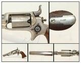 "Pre-CIVIL WAR Colt 1855 ""ROOT"" POCKET Revolver Samuel Colt Side-hammer Revolver Made in 1860"