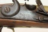 ANTIQUE Brass KETLAND FLINTLOCK Belt Pistol London Proofed Defensive Pistol - 6 of 17