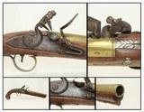ANTIQUE Brass KETLAND FLINTLOCK Belt Pistol London Proofed Defensive Pistol - 1 of 17