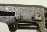 ABOLITIONIST Inscribed GUSTAVE YOUNG Engraved Cased Colt 1849 Pocket Revolver - 11 of 25