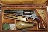 ABOLITIONIST Inscribed GUSTAVE YOUNG Engraved Cased Colt 1849 Pocket Revolver - 18 of 25