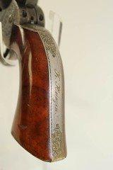 ABOLITIONIST Inscribed GUSTAVE YOUNG Engraved Cased Colt 1849 Pocket Revolver - 21 of 25