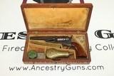 ABOLITIONIST Inscribed GUSTAVE YOUNG Engraved Cased Colt 1849 Pocket Revolver - 17 of 25