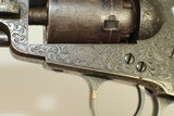 ABOLITIONIST Inscribed GUSTAVE YOUNG Engraved Cased Colt 1849 Pocket Revolver - 10 of 25