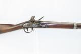 Antique U.S. SPRINGFIELD ARSENAL Model 1816 .69 Caliber FLINTLOCK Musket Flintlock Infantry Musket Made in 1837
