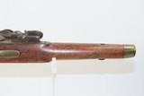 Antique DUTCH/BELGIAN Sea Service .69 Caliber FLINTLOCK Military Pistol .69 Caliber Naval Pistol Made Circa 1830s in Liege - 7 of 15