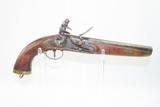 Antique DUTCH/BELGIAN Sea Service .69 Caliber FLINTLOCK Military Pistol .69 Caliber Naval Pistol Made Circa 1830s in Liege - 1 of 15