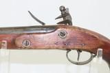 Antique DUTCH/BELGIAN Sea Service .69 Caliber FLINTLOCK Military Pistol .69 Caliber Naval Pistol Made Circa 1830s in Liege - 13 of 15