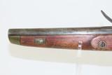 Antique DUTCH/BELGIAN Sea Service .69 Caliber FLINTLOCK Military Pistol .69 Caliber Naval Pistol Made Circa 1830s in Liege - 14 of 15
