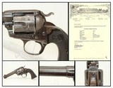 NY Lettered COLT Bisley FRONTIER Six Shooter 44-40 Single Action Army in .44-40 Caliber Manufactured in 1900