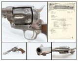 WINCHESTER SHIPPED LETTERED Antique BLACK POWDER Colt SAA in .44-40 WCF NEW MEXICO STATE POLICE Marked 1937! - 1 of 19