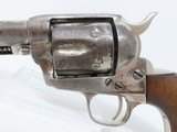 WINCHESTER SHIPPED LETTERED Antique BLACK POWDER Colt SAA in .44-40 WCF NEW MEXICO STATE POLICE Marked 1937! - 4 of 19