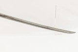 1828 Dated KLINGENTHAL FRENCH Officer's SWORD with Curved Blade & SCABBARD FRENCH Officer's Sword from the 1st French Empire - 14 of 15