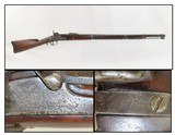 """Antique CIVIL WAR Navy Contract WHITNEY M1861 Percussion """"PLYMOUTH RIFLE"""" Named After the Navy Ship USS PLYMOUTH!"""