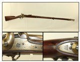 WEST POINT Cadet SPRINGFIELD M1851 Rifle Antique RARE; 1 of 341 Known Rifled with Rifle Sight
