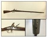 REVOLUTIONARY WAR Era Antique CHARLEVILLE MUSKETFrench Style Flintlock with Germanic Lock! - 1 of 25