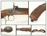 1800s European DEULING Pistols by GASTINNE-RENETTE Beautiful Carved, Engraved Set, .45 Caliber