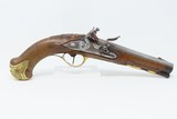 danish antique flintlock pistol by christian wilcken kyhl of copenhagen gorgeous 18th century pistol by renowned maker