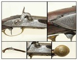 DRAGON Engraved 1740s ANTIQUE BRION of PARIS France .60 Caliber Belt PISTOL