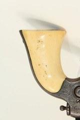 "FACTORY Engraved GOLD Washed COLT 1855 ""ROOT"" POCKET Revolver w Ivory Grips Colt's Distinctive SIDE-HAMMER Revolver Made 1859 - 3 of 19"