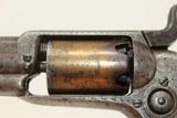 "FACTORY Engraved GOLD Washed COLT 1855 ""ROOT"" POCKET Revolver w Ivory Grips Colt's Distinctive SIDE-HAMMER Revolver Made 1859 - 13 of 19"