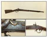 CONFEDERATE, SHORTENED SPRINGFIELD M1840 Musket Mexican-American War Period Musket Cut for Cavalry