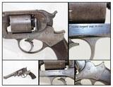 US INSPECTED Civil War Antique Starr 1858 Revolver