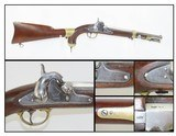 Civil War US SPRINGFIELD M1855 MAYNARD Percussion Pistol-Carbine with STOCK 1 of ONLY 4,021 Made at SPRINGFIELD for CAVALRY